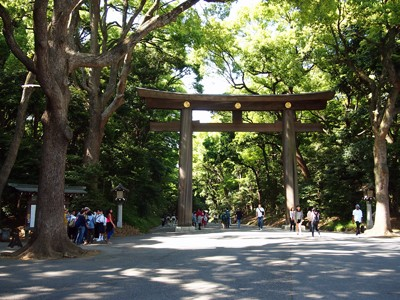 The entrance to Meiji Jinguu