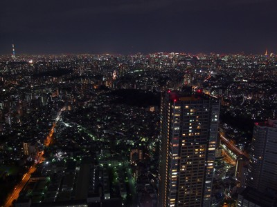 From Tokyo Skytree to Tokyo Tower - Single exposure